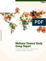 reporte metano