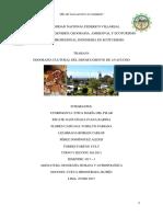 Geografía Cultural en el Depatamento de Ayacucho