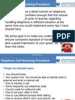 Professional Telephone Etiquette