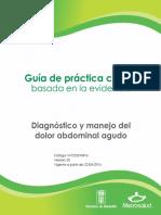 GPC Dolor Abdominal Agudo M