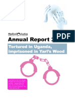 Imprisoned in Yarl`s Wood - Annual Report 2008
