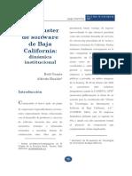 Cluster Baja California 19072007 Cluster Sw Bc Dinamica Institucional