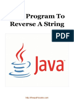 Java Program to Reverse a String