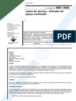 NBR 14606 - Postos de servico - Entrada em espaco confinado.pdf