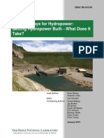 ORNL New Pathways for Hydropower Getting Hydropower Built What Does It Take