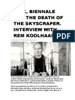 BATIK_Biennale and the death of the skyscraper_interview with Rem Koolhaas.doc