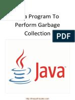 Java Program to Perform GC