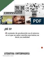 Contexto de Producción y Recpeción