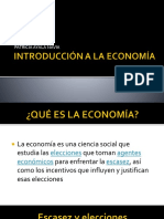 1. Introducción a La Economía
