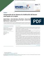 Comparación de los sistemas de clasificación del fracaso renal agudo en la sepsis