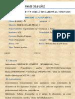Carta Descriptiva Fisiología 2