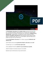 Ver Real Madrid vs Barcelona en VIVO Supercopa España 16 Agosto 2017 Online