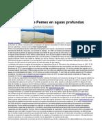 LAJOUS a Pemex en Aguas Profundas
