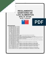 D.S-N----977actualizado-2013 REGLAMENTO SANITARIO DE LOS ALIMENTOS.pdf