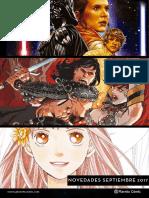 Novedades Planeta Comic Septiembre 2017