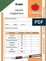 6to Grado - Evaluación Diagnóstica (2014-2015)