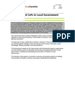 How to Build CoPs in Local Government