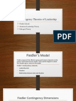 Contingency Theories of Leadership [Autosaved]