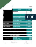 Costo de Produccion Standar