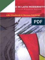 Fairclough e Chouliaraki _discourse in Late Modernity