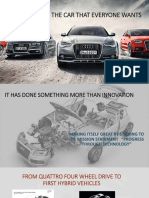 Audi Customer Loyalty