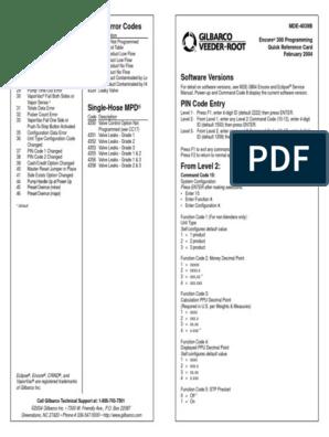 MDE-4039B | Valve | Computing