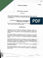 Resolucion 35 2009 Ing Ambiental