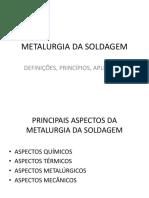 Metalurgia Da Soldagem
