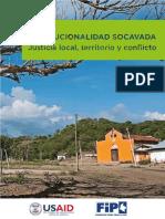 Institucionalidad socavada justicia local, territorio y conflicto.pdf