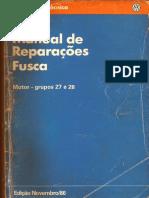 Manual de Reparaçoes Do Fusca ( Motor)