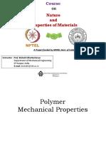 Lec19_Polymer Mechanical Properties