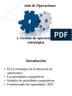 2. La Estrategia en La Dirección de Operaciones