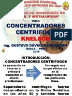 Clase Concentrador CENTRÍFUGO
