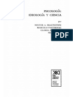 Nestor Braunstein - Psicologia Ideologia y Ciencia