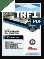 Livro de estudo/ Apostila Trf 1ª Região