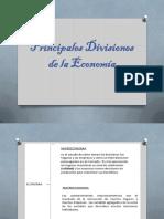 1 PDF Ppales. Divisiones de La Economia