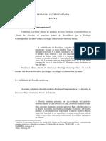 TEOLOGIA CONTEMPORÂNEA - aula.docx