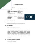 INFORME PSICOLOGICO 10