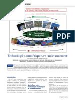 Numérique Et Environnement Draft