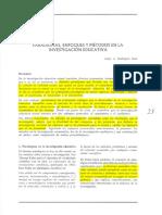 Paradigmas, Enfoques y Métodos en La Investigación Educativa
