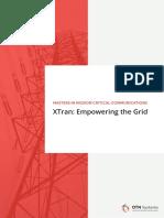 B080 2 XTran Empowering the Grid E