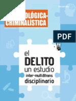 El delito un estudio inter-multi y transdisciplinario