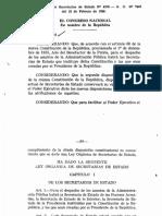 Ley No. 4378 de 1956 - Orgánica de Las Secretaria de Estado