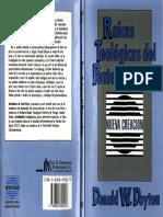Dayton Donald W--Raices Teologicas Del Pentecostalismo
