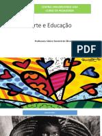 Aula 01-02-03 - 04 - Arte e Educação