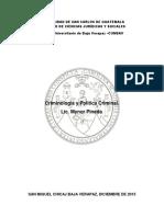Criminologia Teorias y Escuelas
