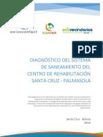 Diagnóstico Del Sistema de Saneamiento Del Centro de Rehabilitación Palmasola