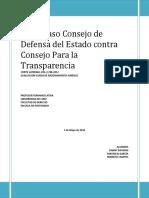 Evaluación Ficha Razonamiento Jurídico Profesor Atria