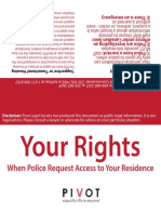 Tenants' Rights Card