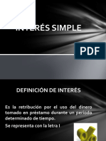 Interes Simple